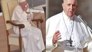 pope francis coughing and sneezing skips retreat italy coronavirus