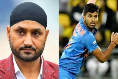 harbhajan singh questioned washington sundar selection bcci indian cricket team