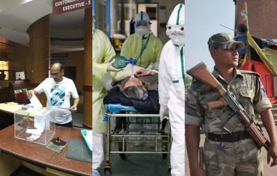 Coronavirus Outbreak Essential services exempt from curfew