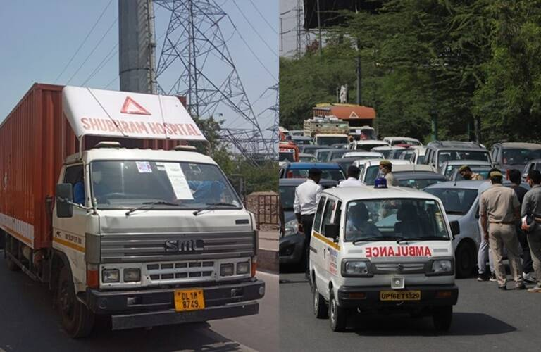 Coronavirus Outbreak Delhi-Noida borders are sealed