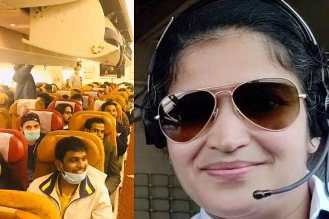 Air India Piolt Swati Ravel rescued the stranded Indians from Italy
