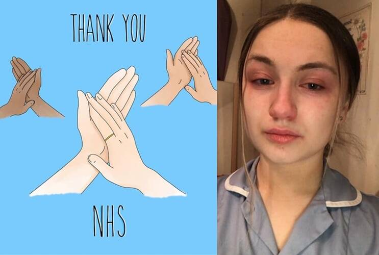 United kingdom appreciates NHS workers across the nation