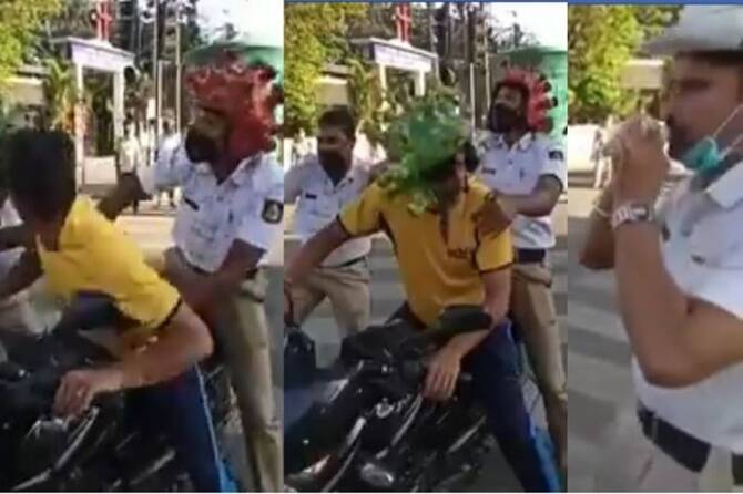 Trending viral video of Coronavirus awareness campaign by Bengaluru Police
