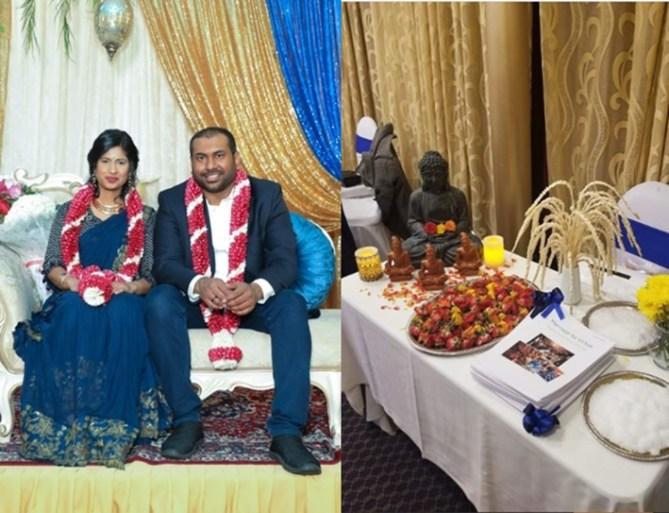 Ramprassana Chellamuthu weds Akhila without Mangalsutra