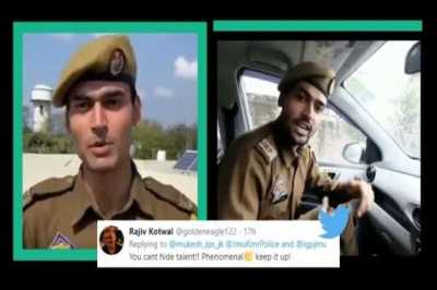 jammu kashmir constable and a passionate rapper