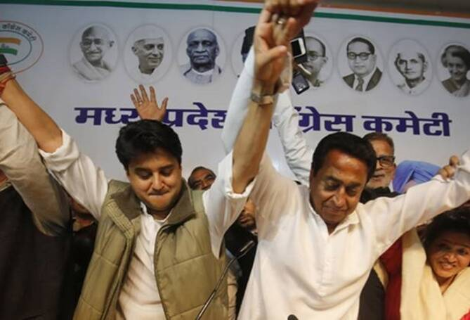 Kamal Nath government battles threat from Scindia camp