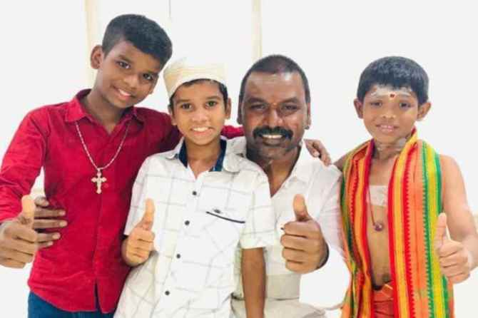 raghava lawrence, temple, hindu, muslim, christian, whatsapp, technology, recover, tanjore, rajasthan, chennai corporation, women, scooter subsidy