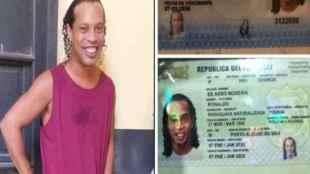 ronaldinho, ronaldinho jail, ronaldinho jail paraguay photo, ronaldinho brazil, ronaldinho fake passport, ronaldinho age, ronaldinho number, football news