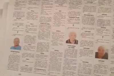 corona virus, italy, death toll, china, obituary, corona virus in Italy, Italy, magazine, L'Eco di Bergamo