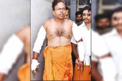 hindu makkal katchi, arjun sampath, tirupur, police, tiruppur hindu makkal katchi,