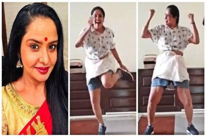 Aranmanaikili Serial pragathi vaathi coming othu dance