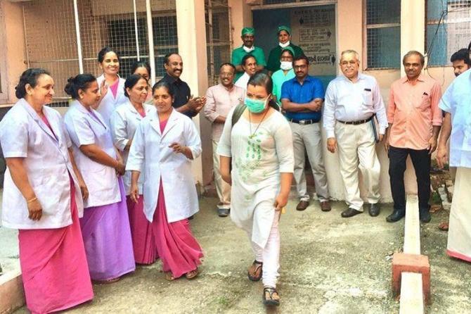 Kerala fights Corona : I'm ready to come back and work in COVID-19 ward says Nurse Reshma Mohandas