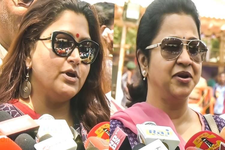 Khushboo Sundar, Radhika Sarathkumar