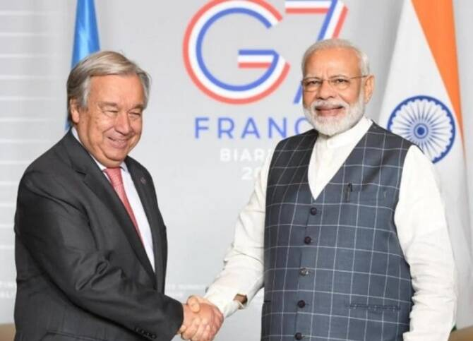 UN salutes India for lift the ban on hydroxychloroquine export