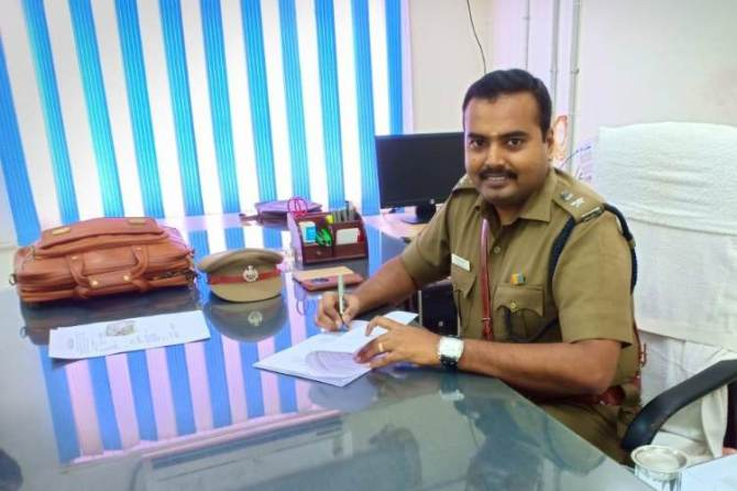 Nellai Deputy Commissioner Arjun Saravanan