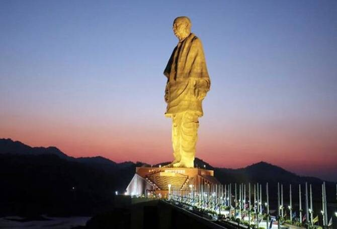 Statue of Unity on sale for rs 30 thousand crores