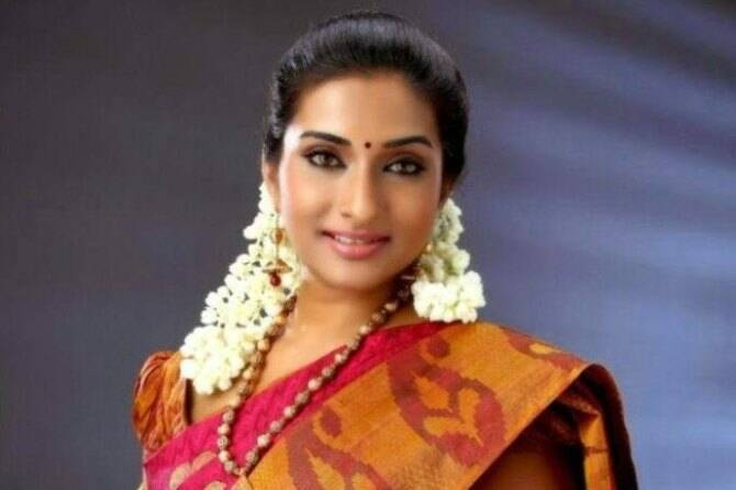 Sun TV Roja Serial Ramya Shankar
