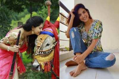 'பக்கா டிரெடிஷனல்' தன்ஷிகா, 'ஃப்ளவர் கேர்ள்' நந்திதா: படத்தொகுப்பு