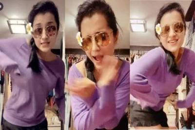 Trisha Tik Tok Dance Video