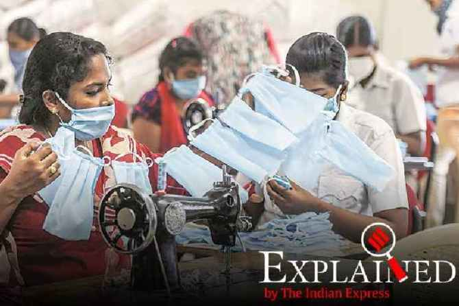 coronavirus safety masks, கொரோனா பாதுகாப்பு முக கவசம், முக கவசம், கொரோனா வைரஸ், n95 masks, ppe, homemade masks, medical masks, coronavirus safety equipments, coronavirus india news, tamil indian express explained