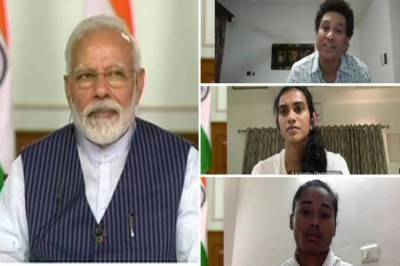You have an important role to play against coronavirus, PM Modi tells sportsmen