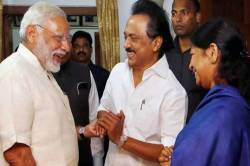 modi and amit shah spoke to mk stalin via phone