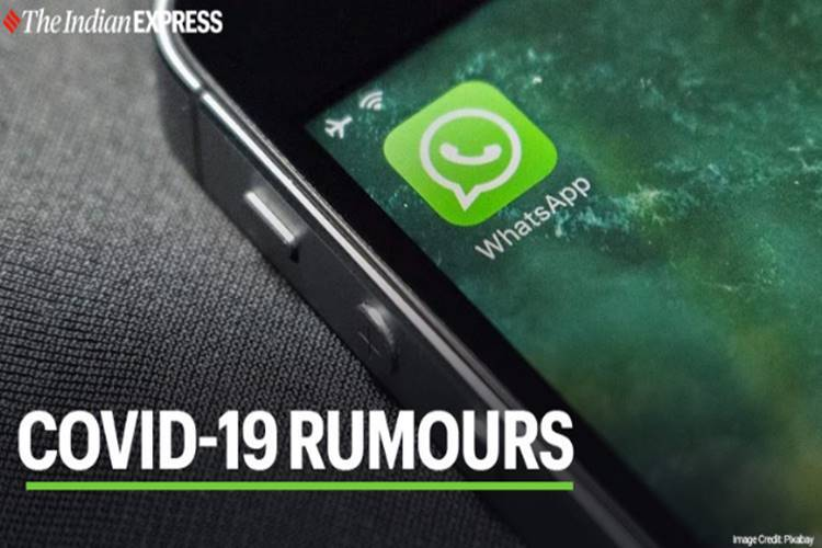Corona virus rumours WhatsApp limits frequently forwarded messages