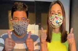 tv celebrity hina khan mask prepare tutorial covid 19