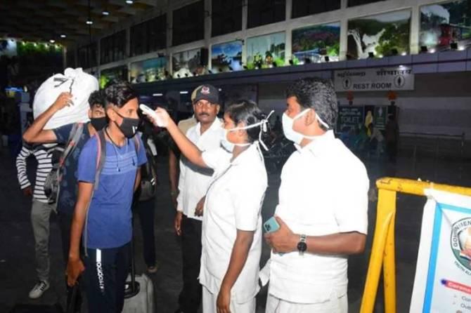 corona virus in tamil nadu raised 834 beela rajesh press meet covid 19