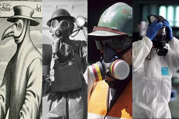 Coronavirus outbreak : History and evolution of N95 Masks