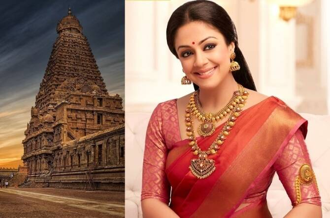 IE Tamil readers opinion on Actress Jyothika Controversial speech on Peruvudayar Koil