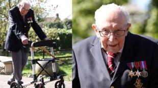 Captain Tom Moore, WWII veteran raised 12 million euro for NHS