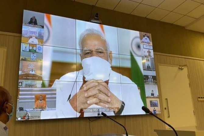 PM Narendra modi meeting with all state CM's, corona lockdown, corona live updates