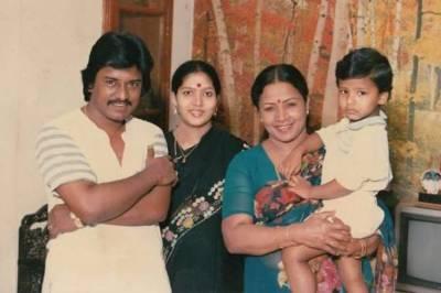 manorama son boopathi hospitalized