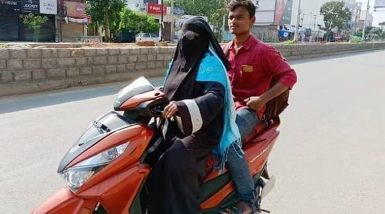Corona outbreak Telangana mom makes 1400-km round-trip on scooty to bring her son home