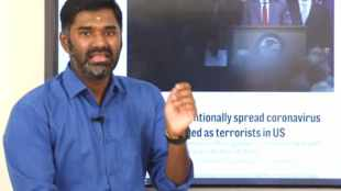 fir registerd on maridhas, police case filed on maridhas, bjp supporter maridhas, மாரிதாஸ், மாரிதாஸ் மீது வழக்குப்பதிவு, மேலப்பாளையம், கொரோனா வைரஸ், டெல்லி மாநாடு, melapalaiyam police case registered on maridhas, maridhas, corona virus, maridhas derogatory statement on muslims