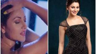 bollywood actress urvashi rautela, actress urvashir rautela bathing bikini hot video, பாலிவுட் நடிகை ஊர்வஷி ரவ்தேலா, 600 மில்லியன் வியூஸ் தாண்டிய ஊர்வஷி ரவ்தேலா வீடியோ, பாலிவுட் நியூஸ், வைரல் வீடியோ, urvashir rautela bathing video cross 600 million views, bollywood news, latest bollywod news, latest video news, latest tamil video news, latest tamil news, viral video