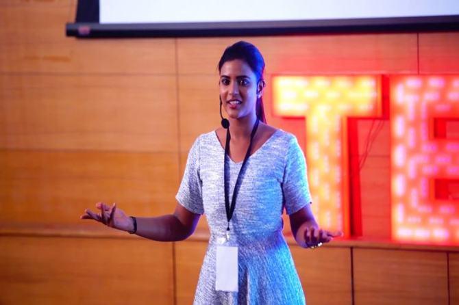 Aishwarya Rajesh Tedx Talk Video