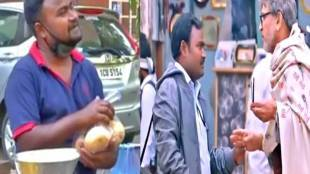 Bollywood actor Solanki Divakar Sells Fruits, corona lockdown