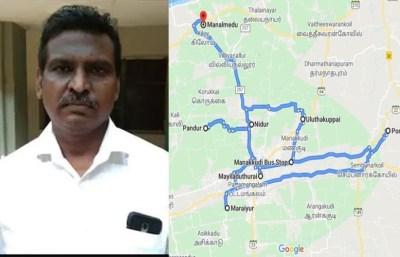 Mayiladuthurai man complaints Google Maps for giving false your timeline history