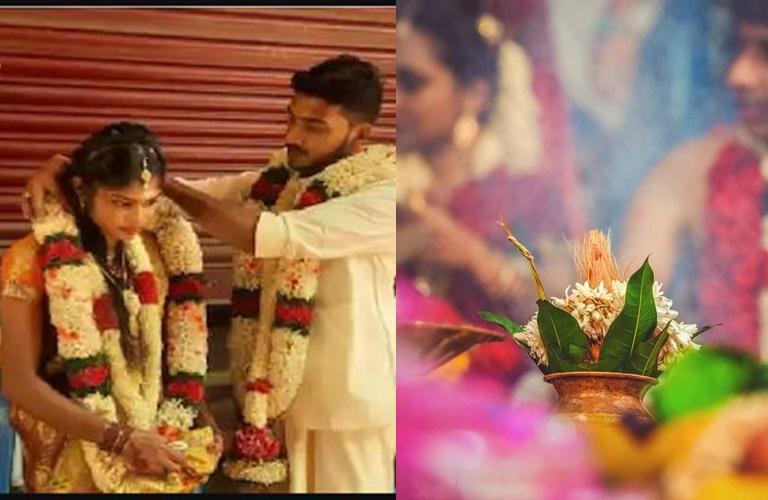 Tamil Nadu Kerala couple got married at the border checkpost