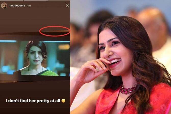 why Pooja must apologize samantha is trending in twitter now?