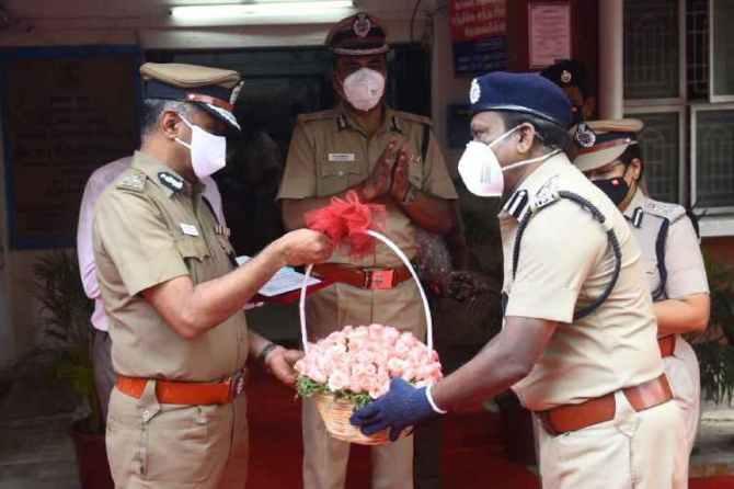 A. K. Viswanathan chennai police Commissioner