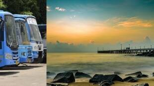 Lockdown 4.0 Bus service started between Puducherry and Karaikal