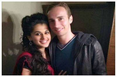 Taapsee Pannu Relationship with Mathias boe