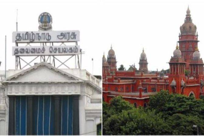 Tamil nadu government, Chennai High Court