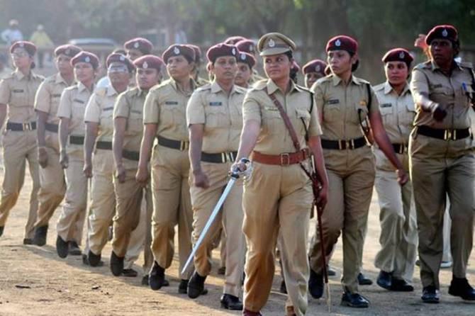 Tamil nadu police training, women police tests corona positive