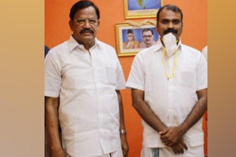 VP Duraisamy selected as BJP deputy leader