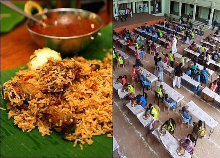 Sheik Dawood Maraikayar provide briyani to cleaning workers in Nagapattinam