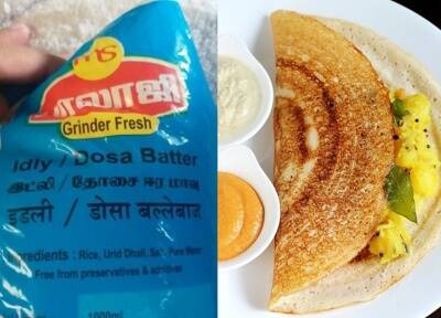 Dosa Ballebaaz Blunder On Dosa Batter Packet Has Netizens Amused